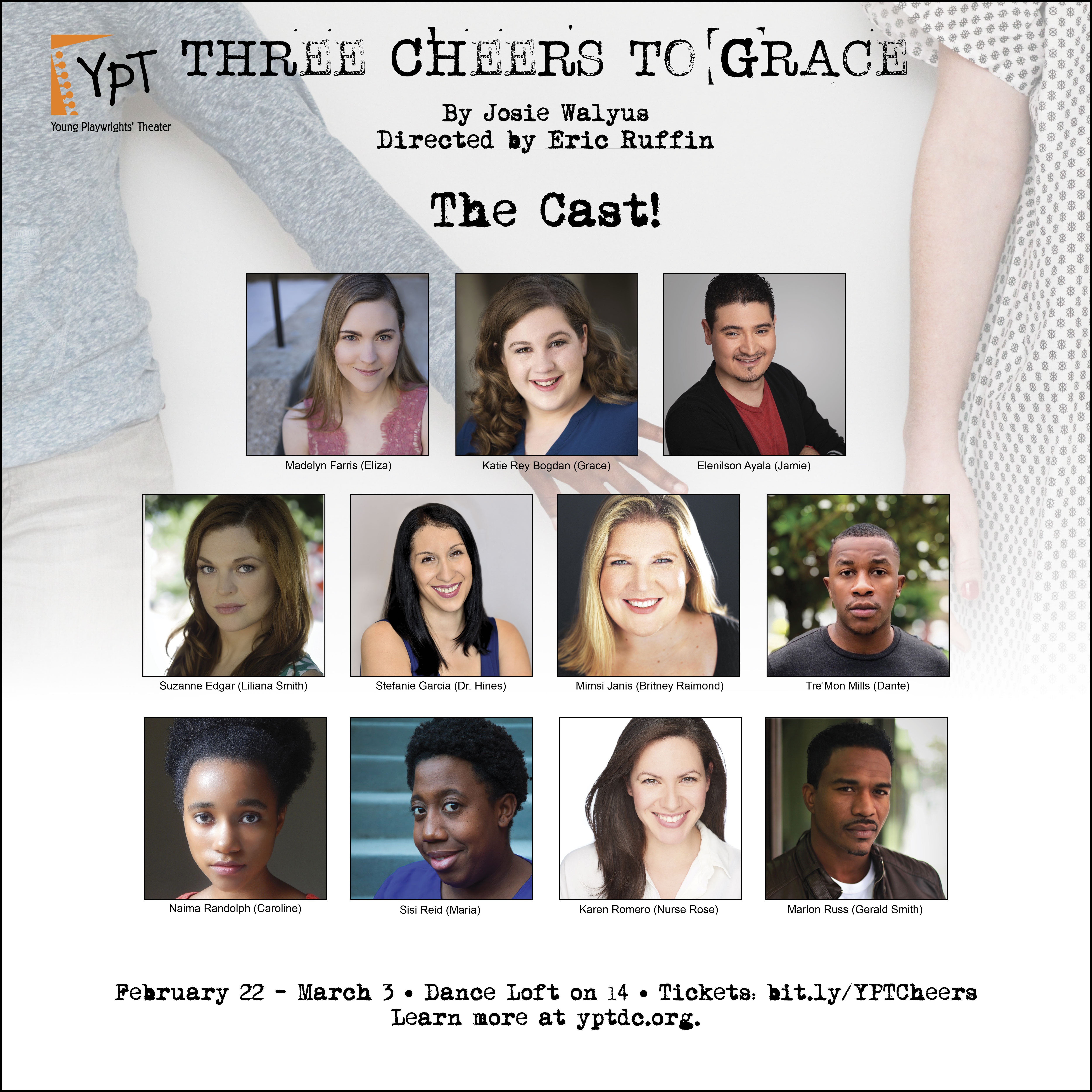 Meet the Cast! | Young Playwrights Theater