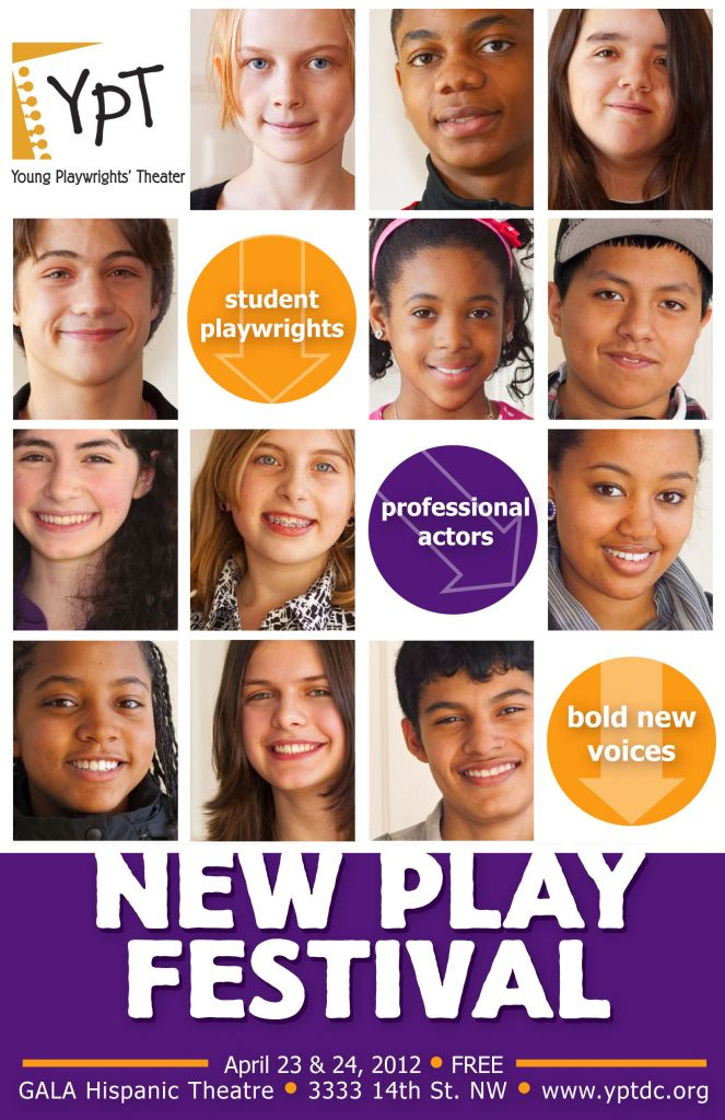 New Play Festival 2012! Student playwrights. Professional actors. Bold new voices.